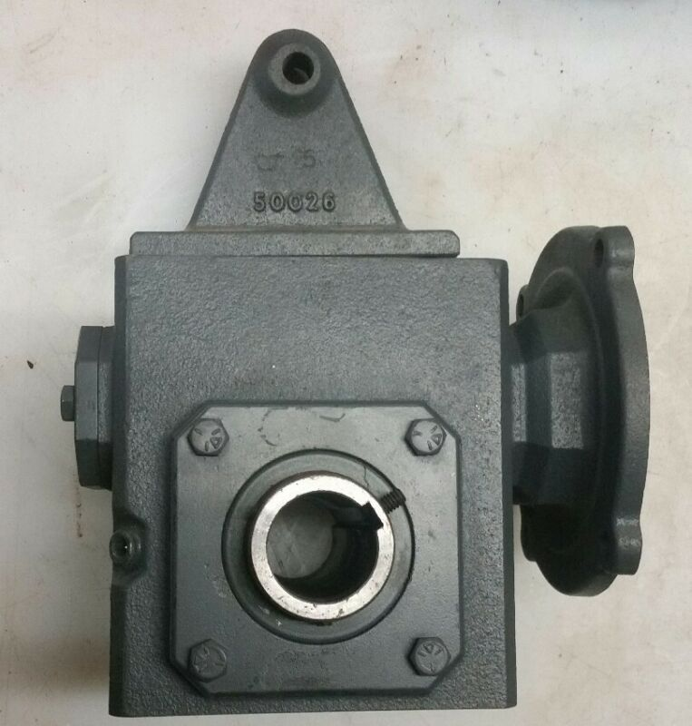 ***NEW***FALK #(1206WBQM1A)- RIGHT ANGLE WORM GEAR SPEED REDUCER (7.5 : 1 Ratio)
