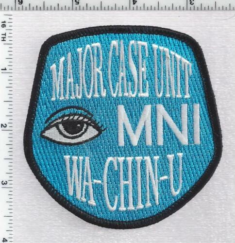 Minneapolis Police Major Case Unit (Minnesota) 1st Issue Shoulder Patch