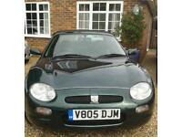 MGF 1.8 CONVERTIBLE 1999 V 9MONTHS MOT EXCELLENT ENGINE LOVELY CONDITION