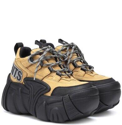 SOLD OUT RARE Vetements X Swear London Nubuck Platform Sneakers EU 36 US 4