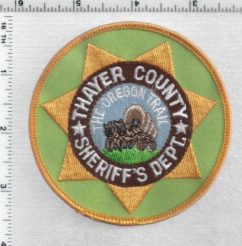 Thayer County Sheriff (Nebraska) 1st Issue Shoulder Patch