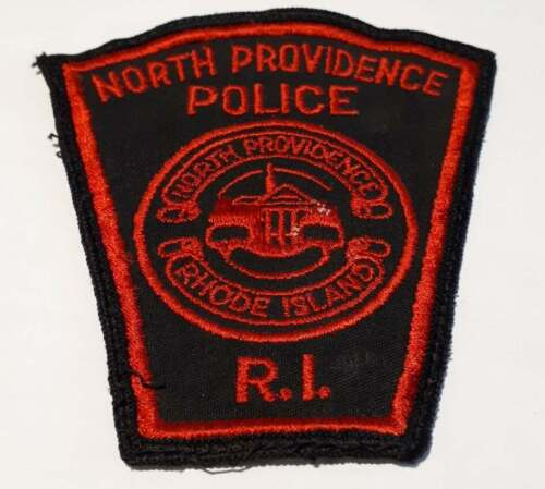 North Providence Rhode Island RI Police Patch Vintage