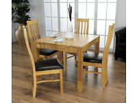 Wanted - Square Oak Table & Chairs
