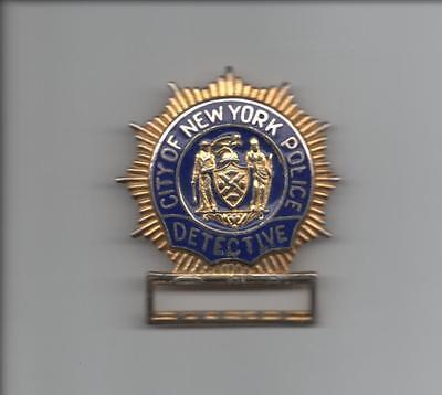 VINTAGE! OBSOLETE!  NEW YORK CITY POLICE BADGE - DETECTIVE