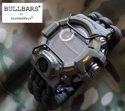 Jaysandkays  Bullbars  For Casio G Shock Gw9400 Rangeman Pvd Wire Guards 9400