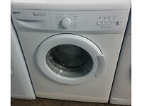 E298 white beko 5kg 1000spin washing machine comes with warranty can be delivered or collected