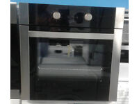 a648 stainless steel & black statesman single electric oven comes with warranty can be delivered
