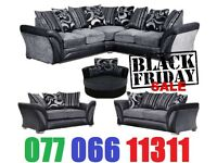 ** GET IT NOW LIMITED TIME OFFER ** UNIVERSAL CORNER OR 3+2 SEATER SHANNON SOFA **