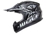 Motorbike helmet kids wulf sport motocross mx GP child bike