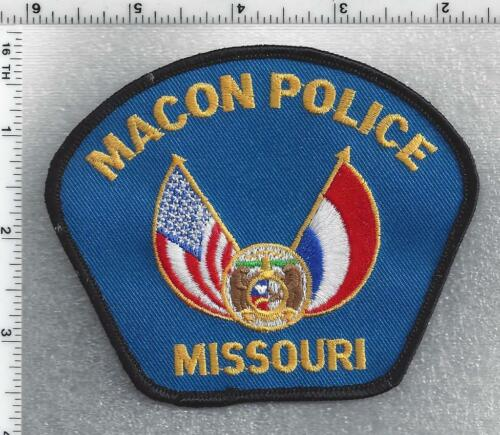 Macon Police (Missouri) 3rd Issue Shoulder Patch