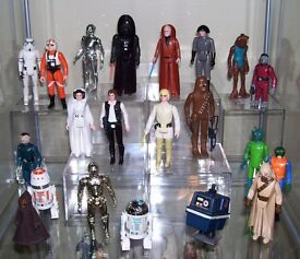 Wanted: Vintage Star Wars toys and vintage movie posters