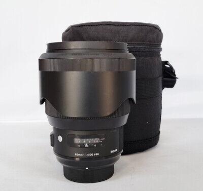 # Sigma Art 85mm F/1.4 HSM DG Lens For Nikon + LOWEPRO CASE (7561)