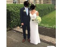 White wedding dress from Cheadle Brides