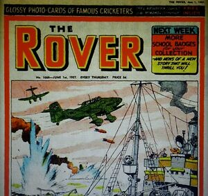 THE ROVER (1951-1957) (DISC 4) RETRO VINTAGE COMICS ON DVD
