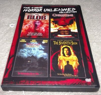 The 4-Movie Horror Unleashed Collection (DVD, Disc Set) *HORROR *HALLOWEEN