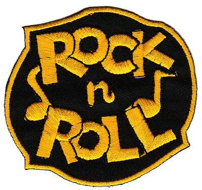 ik Noten Rockabilly Aufnäher Bügelbild Patch 7,5 x 6,9 cm (7 Musik-noten)