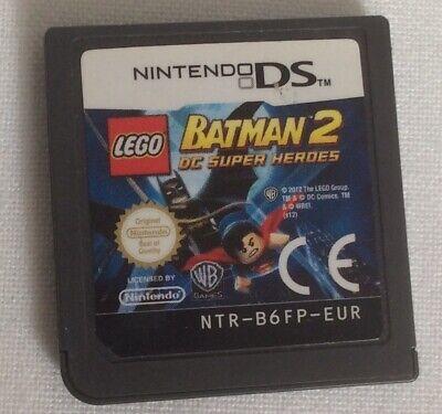 Lego Batman 2 DC Super Heroes Nintendo ds Cartridge  for sale  Shipping to Nigeria