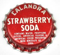 Vintage Calandra Strawberry Soda Bottle Cap Usa Soda Bottle Cap Plastic Seal -  - ebay.co.uk