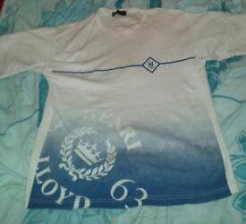 Henri Lloyd blue & white top