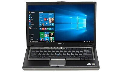 Dell latitude D620 Laptop Windows 10 180gb ssd wifi ,good battery dvd drive wifi