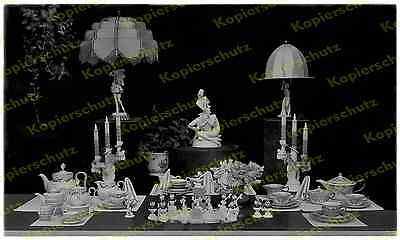 Foto Rosenthal Micky Maus Porzellan - Figuren Comic Art Deco Design München 1931