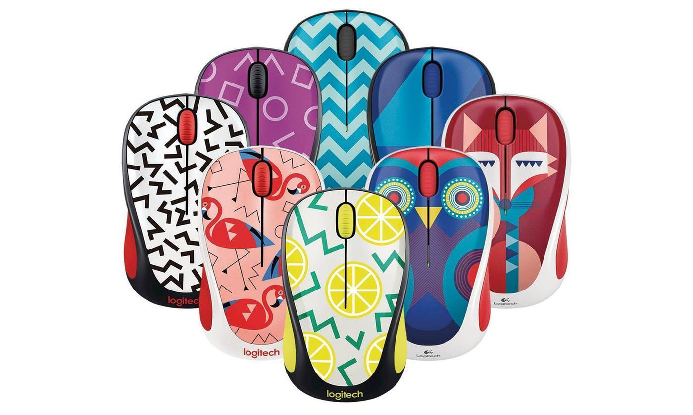 Logitech M317 Wireless Optical Mouse Many New Colors To Choo