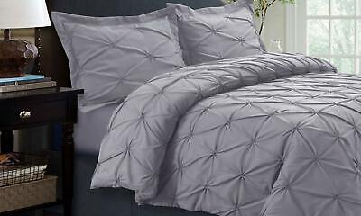 Sydney Microfiber Oversized Duvet Cover Set (3-Piece) Queen