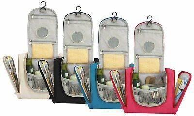 Waterproof Hanging Travel Makeup Toiletry Bag & Cosmetic Storage Organizer Small Health & Beauty