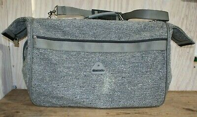 Samsonite Profile Gray Folding Hanging Garment Bag Luggage Suitcase