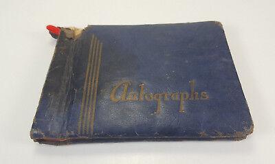 VINTAGE 1947 SCHOOL DAY MEMORIES AUTOGRAPHS BOOK PEARL STEPHENS MACON GEORGIA