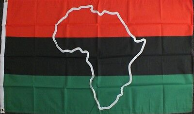 Black Lives Matter Flag 5x3 Anarchist Red African American Resistance BLM