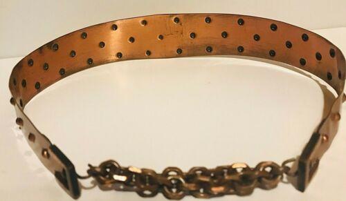 """Vintage 1950s copper belt 28"""""""