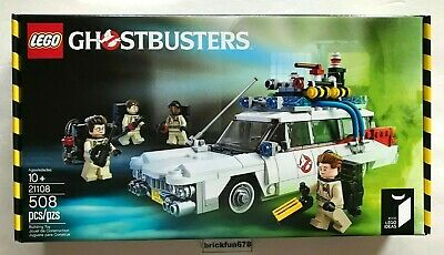 Lego Ideas 21108 Ghostbusters Ecto-1 set New In Factory Sealed Box