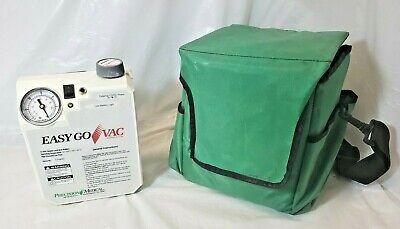 Precision Medical Pm65hg Easy Go Vac Portable Vacuum Pump Case No Charger