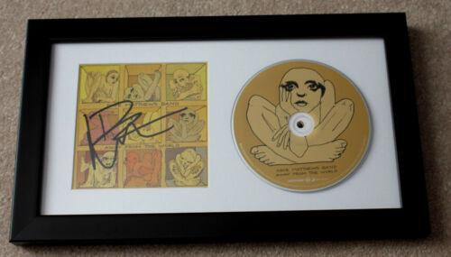 DAVE MATTHEWS BAND SIGNED FRAMED AWAY FROM THE WORLD CD COVER BOOKLET COA PROOF