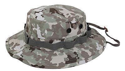 Terrain Bucket - Total Terrain Camo Boonie Hat Wide Brim Bucket Hat Camping Hunting Rothco 55839