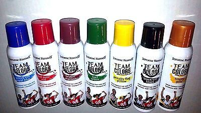 Jerome Russell Spray On Hair Color 3.5oz Temporary 8 Team Colors To Choose - Temporary Spray Hair Color