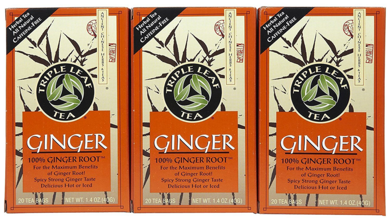 triple leaf ginger tea bags 20 ct