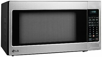 LG 2.0 Cu. Ft Counter-Top Microwave w/ True Cook+, EZClean Oven, Stainless Steel