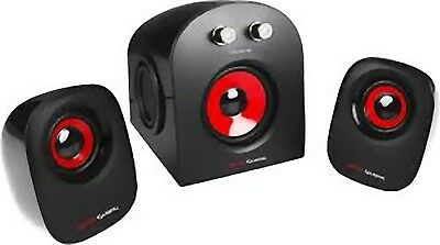 MARS GAMING MS2 GAMING SPEAKERS 2.1 KIT CASSE AUDIO CON SUBWOOFER 20W...