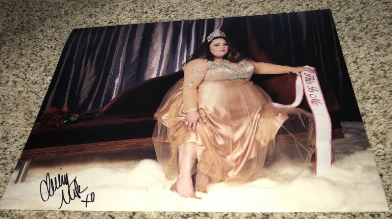 Chrissy Metz Signed 11x14 Photo This Is Us