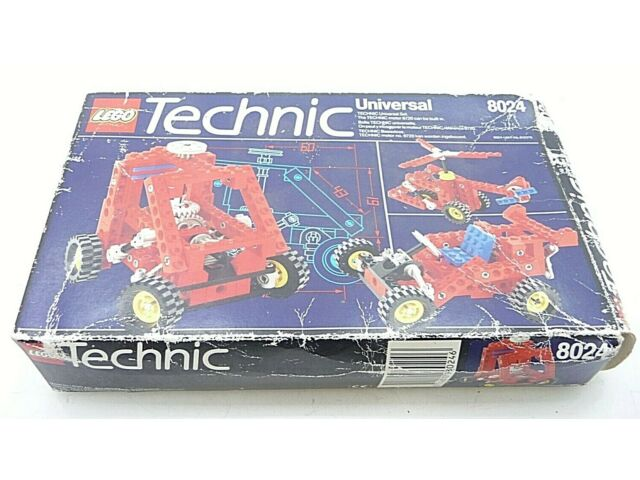 Vintage Lego Technic Set 8024 Complete with Box and Instructions (D3)
