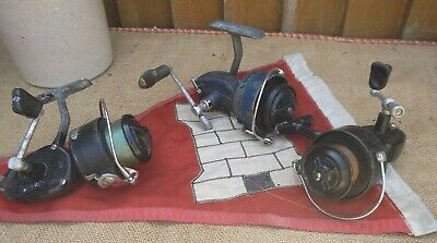 3 Vintage  Fishing Reels ~ MITCHELL 411A ~ MITCHELL 301A ~ MITCHELL 300