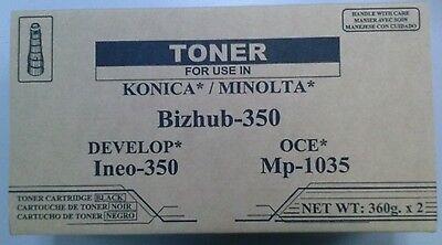 KONICA MINOLTA Bizhub 350 362 8938-402 8938402 Caja de 2 TN-