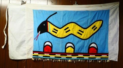 Hopi Ceremonial Snake Wrap Dress