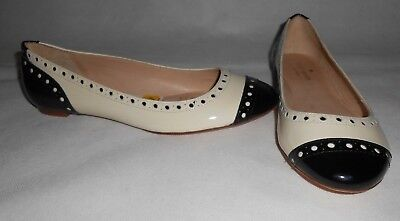 New Kate Spade New York flat shoes 100% leather US6,5 UK4 RRP £199