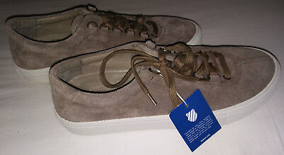 Used, K-Swiss Men's Court Classico Brown Suede Fashion Sneaker-Size 8.5-New  for sale  Fort Wayne
