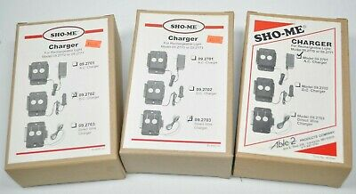 Sho-me Dc Auto Ac Charger Home Plug-in Lot For 09 Series Rechargeable Lights