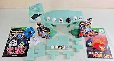 Lot: Hasbro STAR WARS ANGRY BIRDS AT-AT Attack Playset w/2 NEW Blind bags/books
