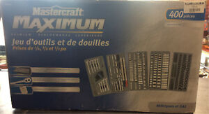 400pc Mastercraft Socket Set
